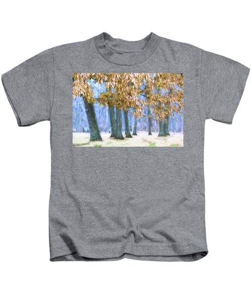 Tones Of Winter Kids T-Shirt