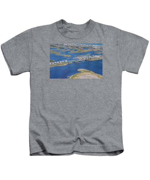 Topsail Island The Iron Lady Kids T-Shirt