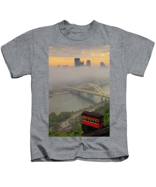 Touch Of Fog  Kids T-Shirt