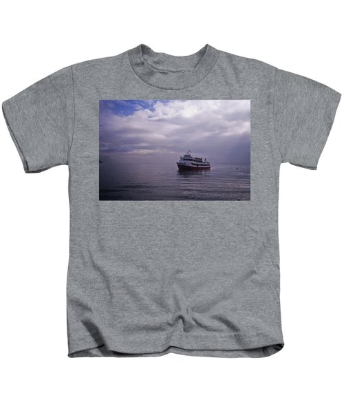Tour Boat San Francisco Bay Kids T-Shirt