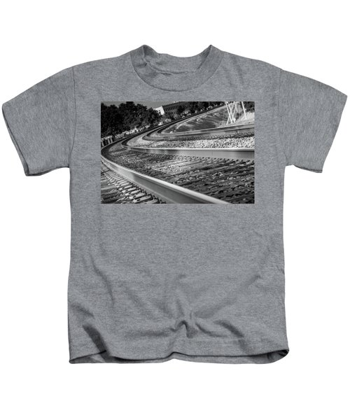 Tracks Through Historic Buford Kids T-Shirt