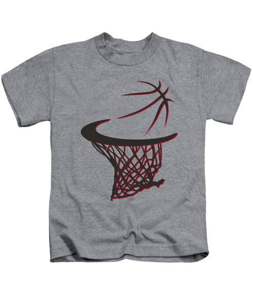 Trail Blazers Basketball Hoop Kids T-Shirt