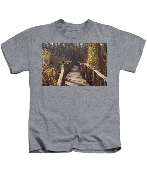 Trail Bridge Kids T-Shirt
