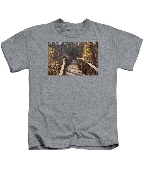 Trail Bridge Kids T-Shirt