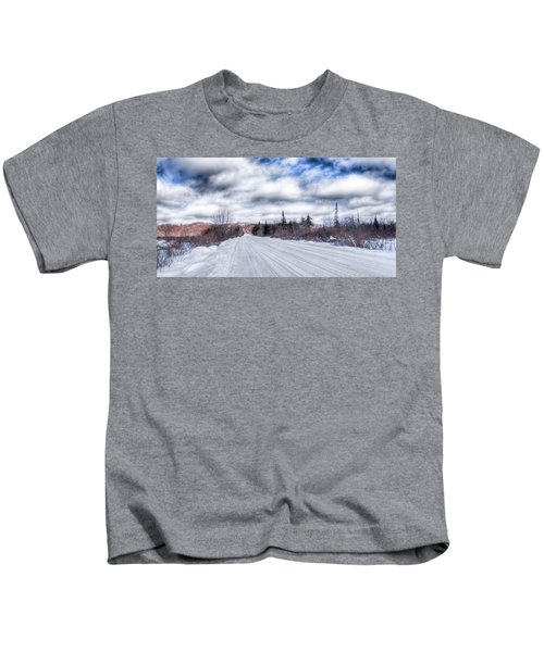 Trail One In Old Forge 2 Kids T-Shirt