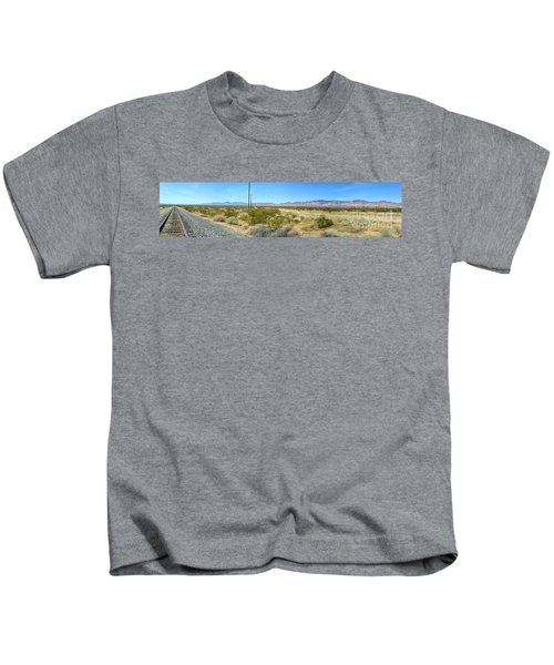 Train To Tehachapi Kids T-Shirt