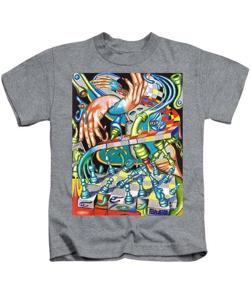 Transmutation Of Time, Reflex, And Observation Kids T-Shirt