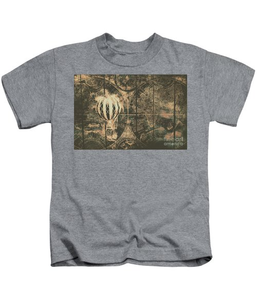 Travelling The Old World Kids T-Shirt