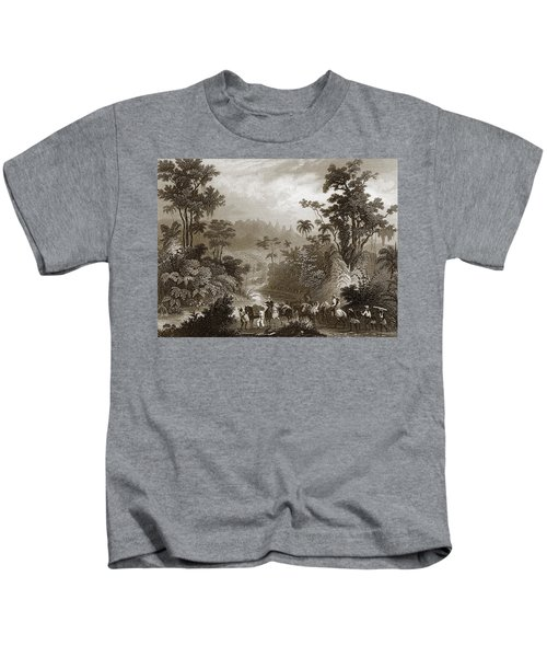 Travels In Brazil Kids T-Shirt