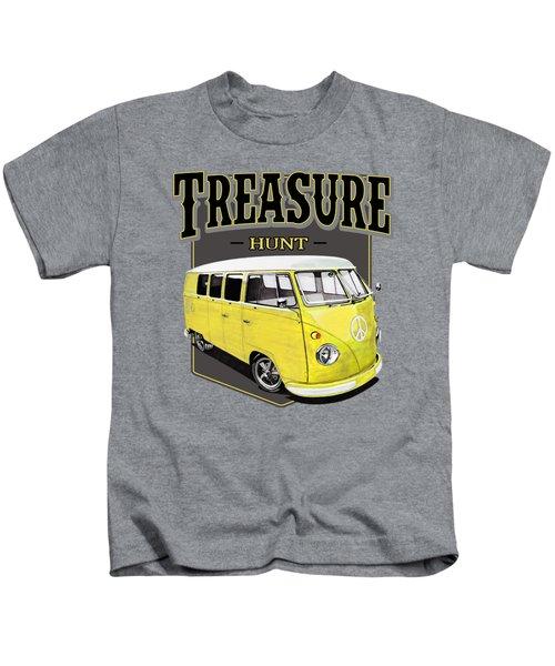 Treasure Hunt Bus Kids T-Shirt