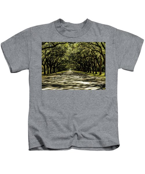 Tree Covered Approach Kids T-Shirt