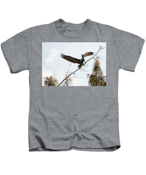 Tree Landing Kids T-Shirt