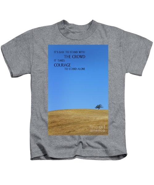 Tree Of Courage Kids T-Shirt