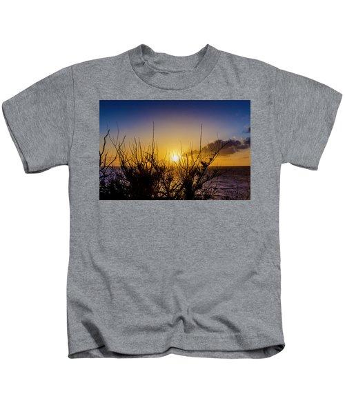 Tree Sunset Kids T-Shirt