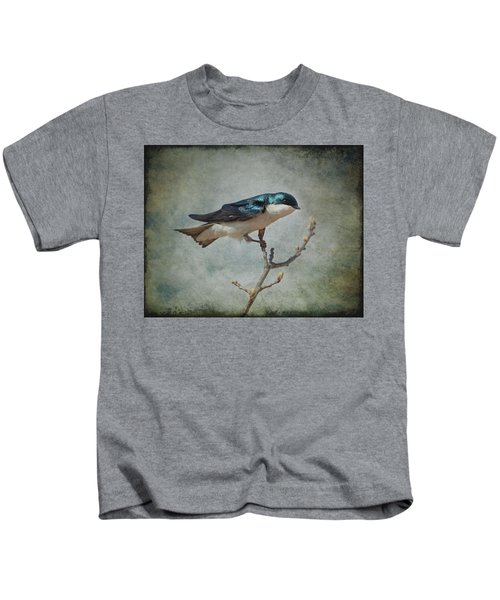 Tree Swallow Kids T-Shirt