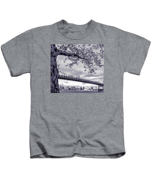 Tree With A Bridge Kids T-Shirt