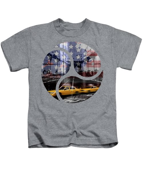 Trendy Design Nyc Composing Kids T-Shirt by Melanie Viola