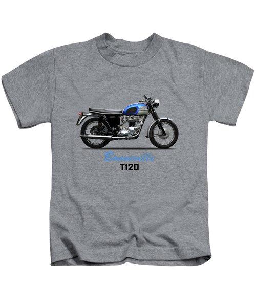 Triumph Bonneville T120 1965 Kids T-Shirt