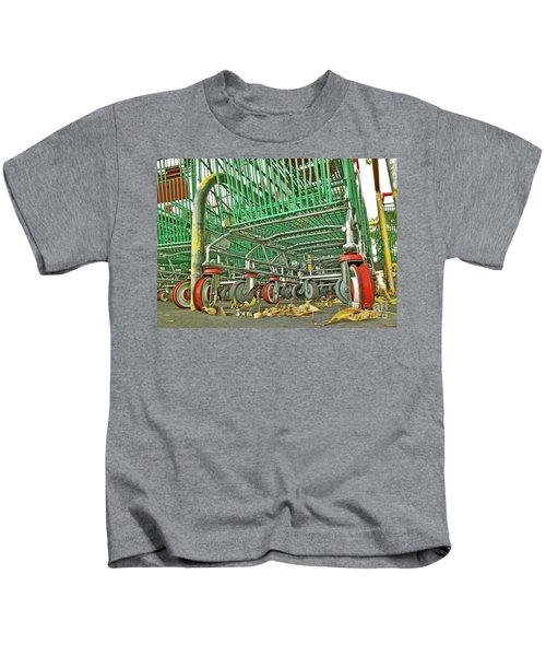 Trolley Convoy Kids T-Shirt