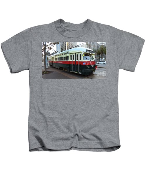 Trolley Number 1077 Kids T-Shirt