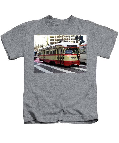 Trolley Number 1079 Kids T-Shirt