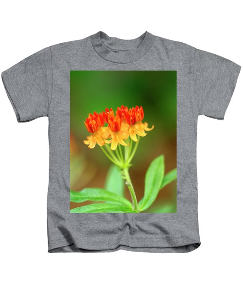 Tropical Milkweed Kids T-Shirt