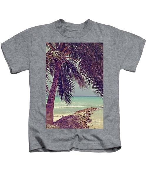 Tropical Ocean View Kids T-Shirt