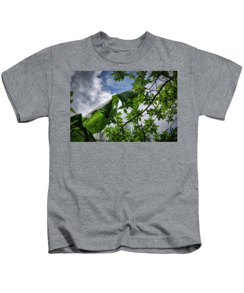 Tropical Sky Kids T-Shirt