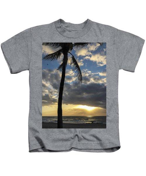 Tropical Sunrise Kids T-Shirt
