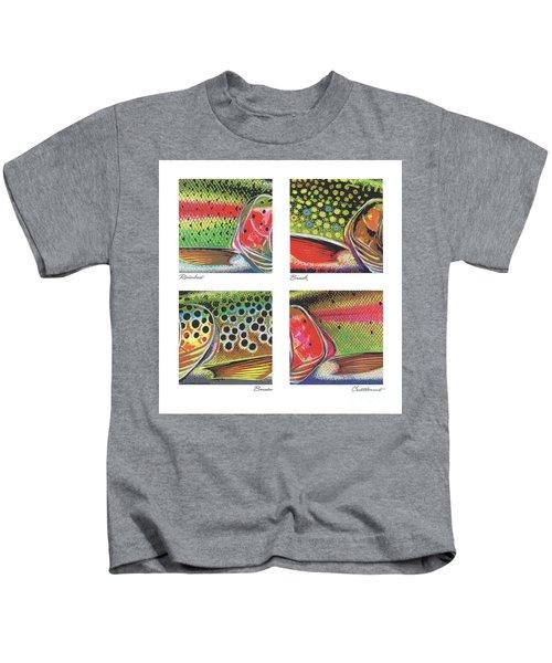 Trout Colors Kids T-Shirt