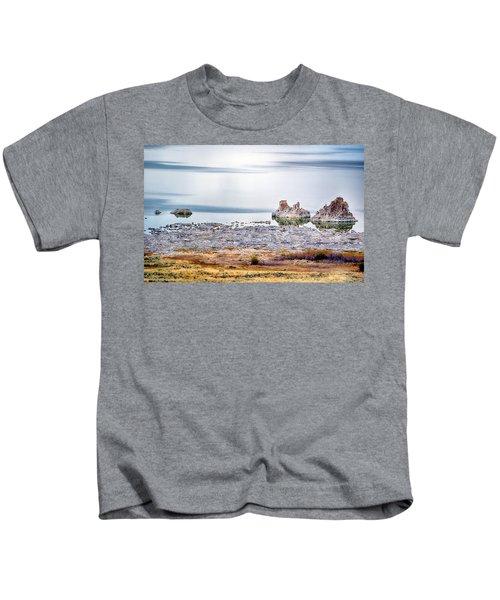Tufa Formations At Mono Lake Kids T-Shirt
