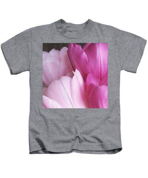 Tulip Petals Kids T-Shirt
