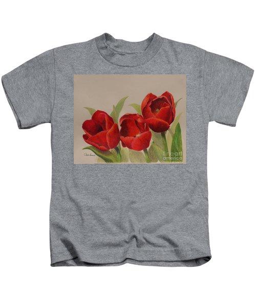 Tulip Trio Kids T-Shirt
