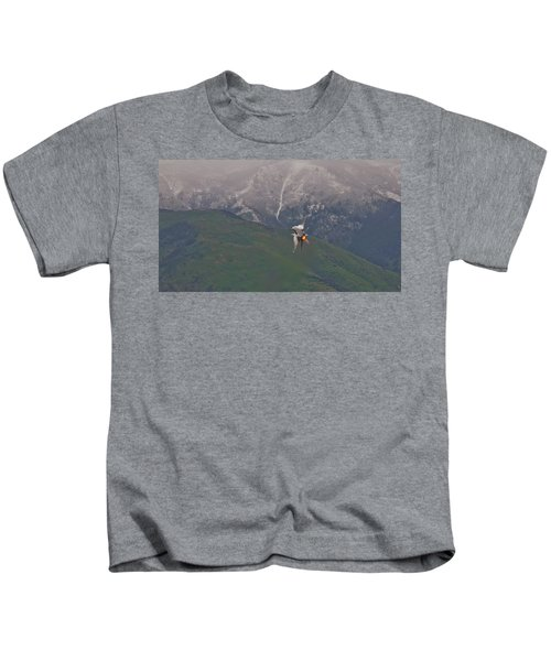 Turn And Burn Kids T-Shirt