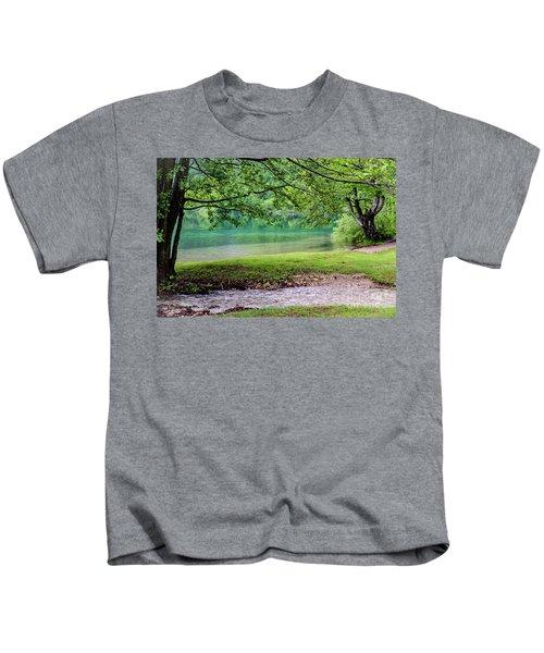 Turquoise Zen - Plitvice Lakes National Park, Croatia Kids T-Shirt