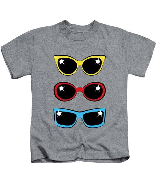 Twentieth Century Sunglasses Kids T-Shirt