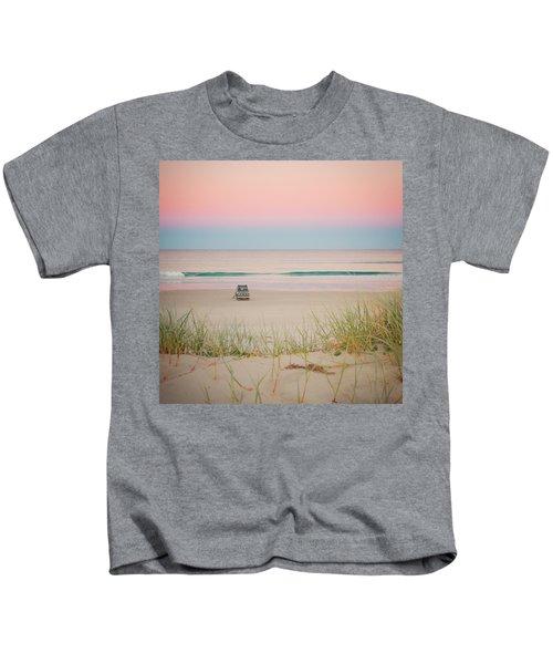 Twilight On The Beach Kids T-Shirt