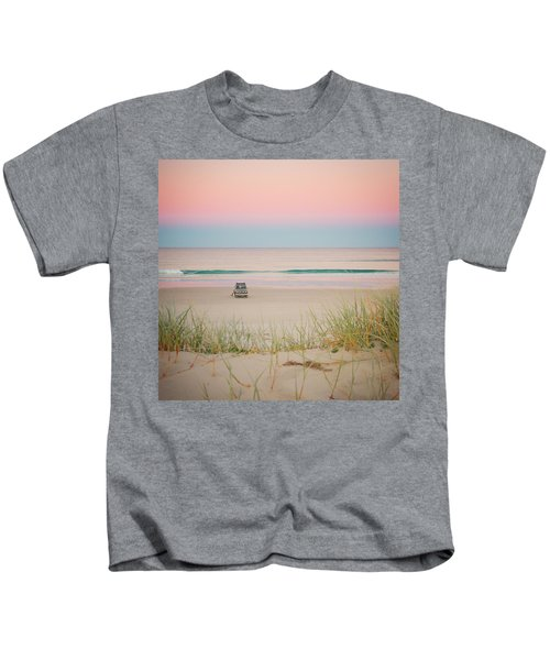 Twilight On The Beach Kids T-Shirt