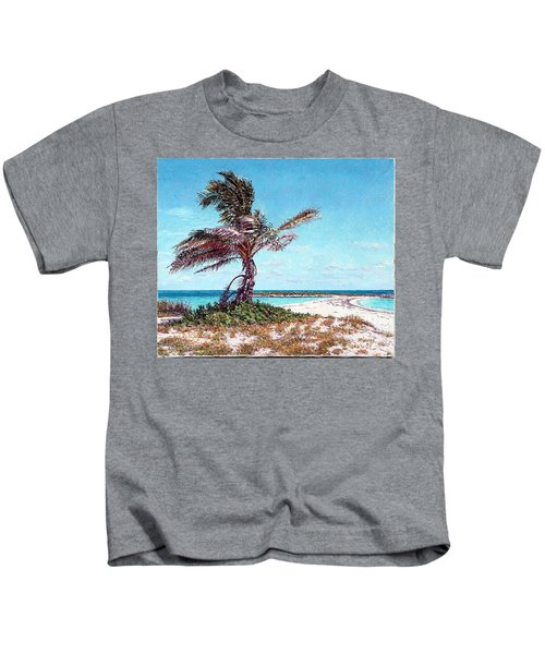 Twin Cove Palm Kids T-Shirt