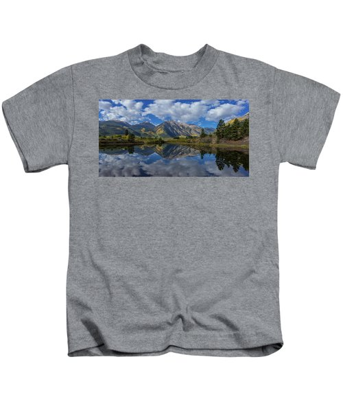 Twin Peaks Reflection Autumn Reflection Kids T-Shirt