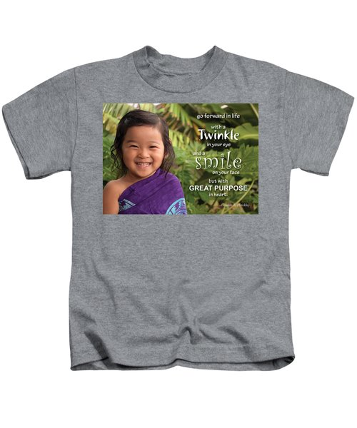 Twinkle Smile Kids T-Shirt