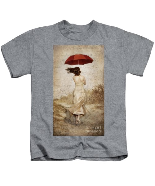 Twirling Painted Lady Kids T-Shirt