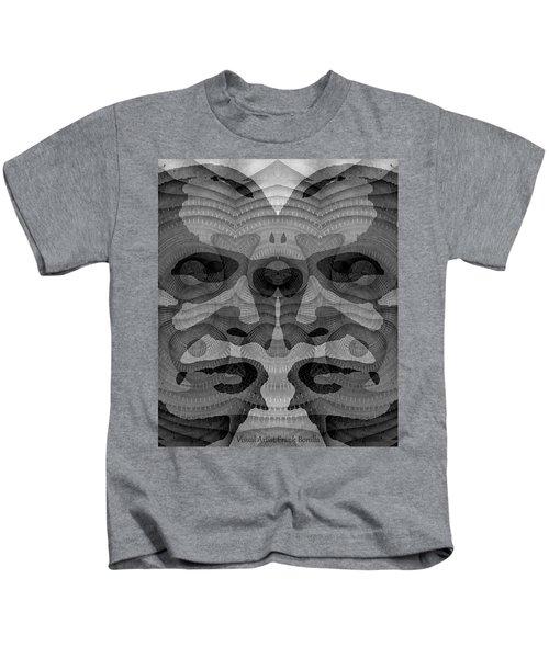 Two-faced Bw Version Kids T-Shirt