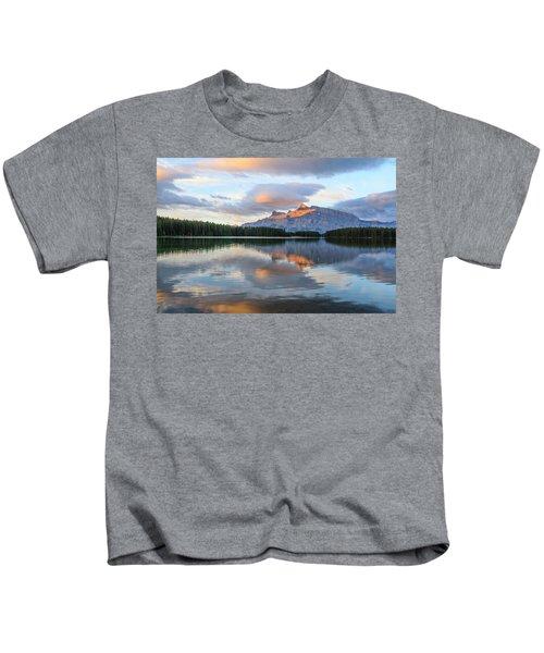 Two Jack Lake, Banff National Park Kids T-Shirt