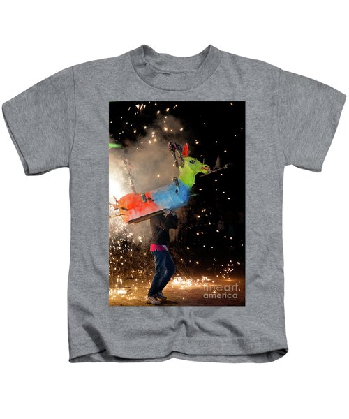 Typical Festival Plaza South Italy Kids T-Shirt