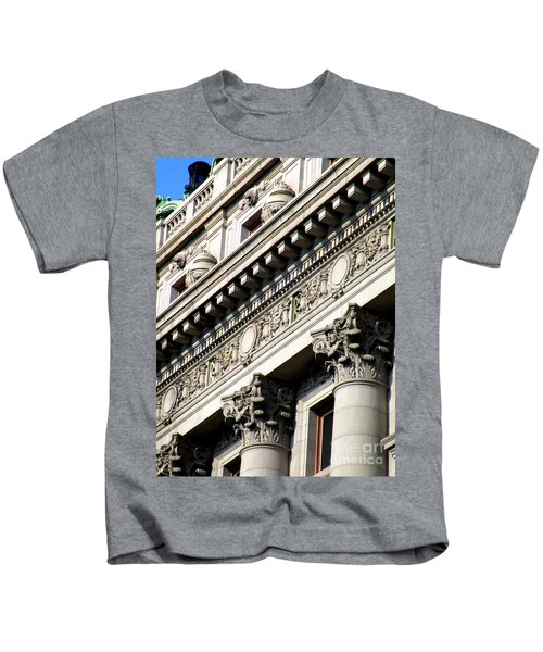 U S Custom House 2 Kids T-Shirt by Randall Weidner