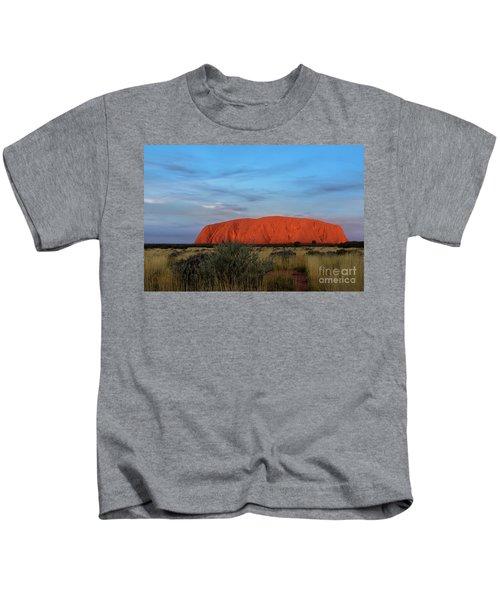 Uluru Sunset 03 Kids T-Shirt