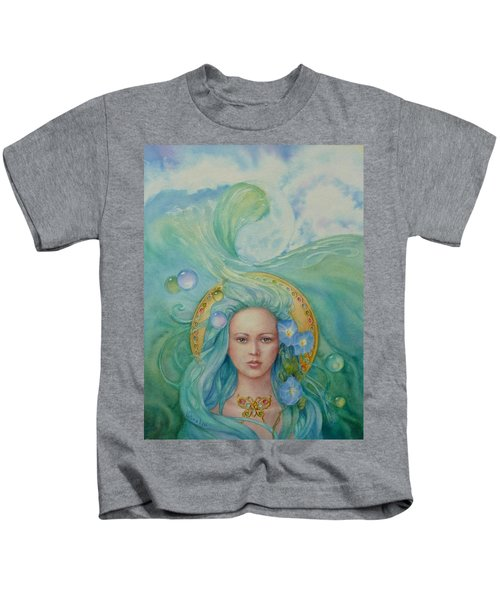 Under The Waves Kids T-Shirt