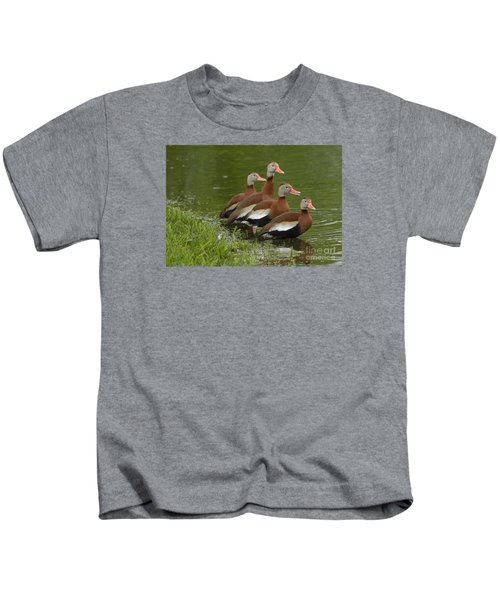 Unexpected Visitors Kids T-Shirt