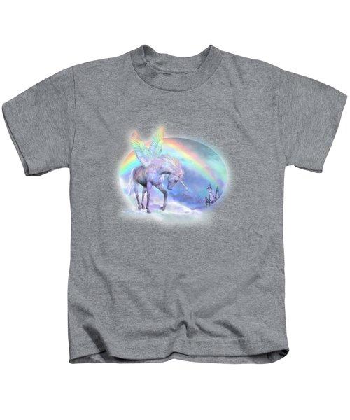 Unicorn Of The Rainbow Kids T-Shirt